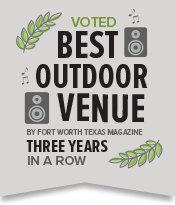 Best Outdoor Venue by Fort Worth Magazine
