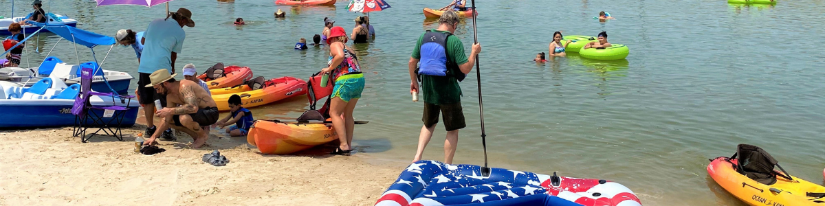 Summer Activities at the Panther Island Pavilion Beach – FINAL WEEK
